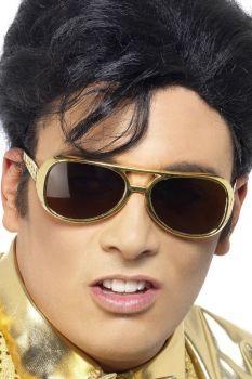 Brýle - Elvis - zlaté