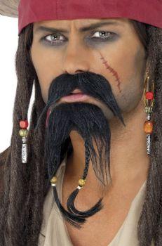 Knír a bradka - Pirát
