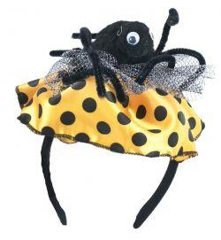 čelenka puntíkatá s pavoukem, dospělá