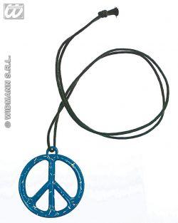 """Kovový medajlonek """"Hippie"""""""
