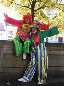 ŽLUTICKÉ MAMINKY  - akce - klauni