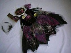 ČARODEJNICE - fialovo černá