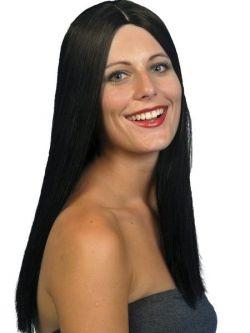 Paruka Glamour Alluring - černá