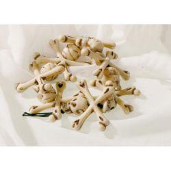 DOPLŇKY HALLOWEEN Náramek lebky kostičky