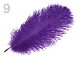 PEŘÍ PŠTROŠÍ fialové