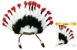 čelenka indiánská
