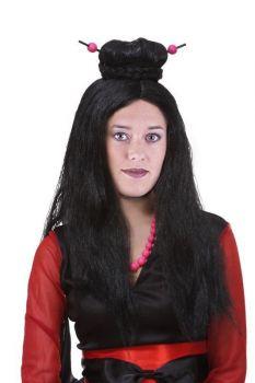 paruka japonská dívka, dospělá