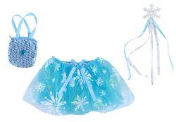 sukně tutu, hůlka, kabelka - Ledové království