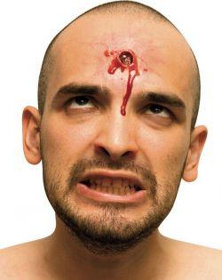 Zranění - kulka v hlavě
