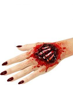 Zranění - latexové, kosti na ruce