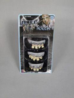Zuby - ZOMBIE - sada 3 kusy