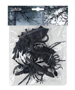Balíček halloweenského hmyzu a zvířátek