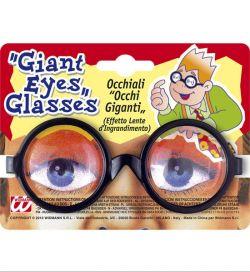 Černé brýle zvětšující oči