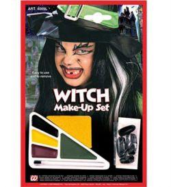 Obličejové barvy s nehty, čarodějnice