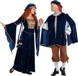 Středověká dáma kostým