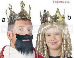 karnevalové  -královské koruny